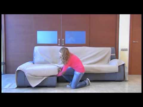 Telas Para Cubrir sofas Ikea T8dj O Montar Funda Cubre sofa Chaise Longue Youtube