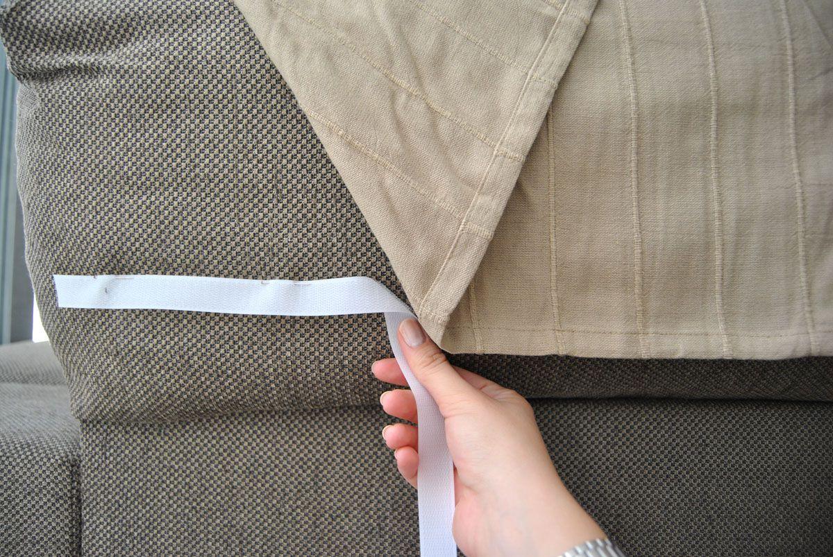 Telas Para Cubrir sofas Ikea Tldn Cà Mo Hacer Una Funda De sofà Que No Se Cae Con Truco Departam