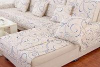 Telas Para Cubrir sofas Qwdq Jiejing Algodà N Funda De sofà Cuatro Estaciones Tela Sala De Estar