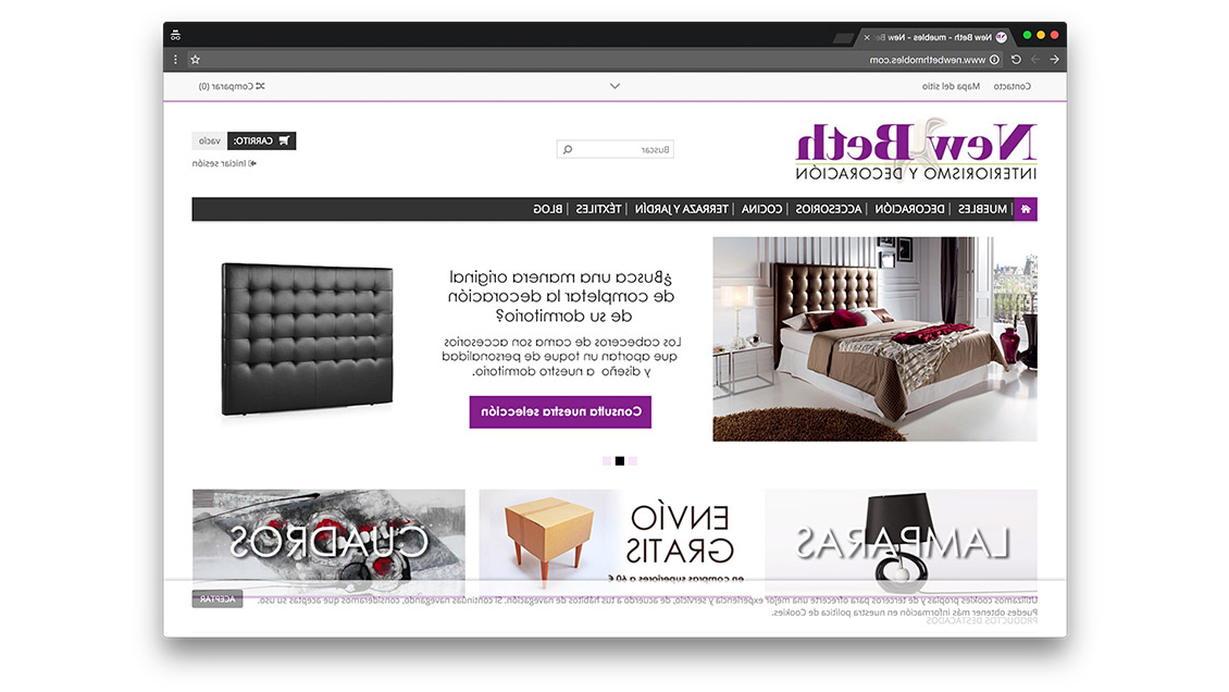 Tienda Online Muebles 87dx Diseà O Tienda Online De Muebles En Barcelona Programacià N Tienda