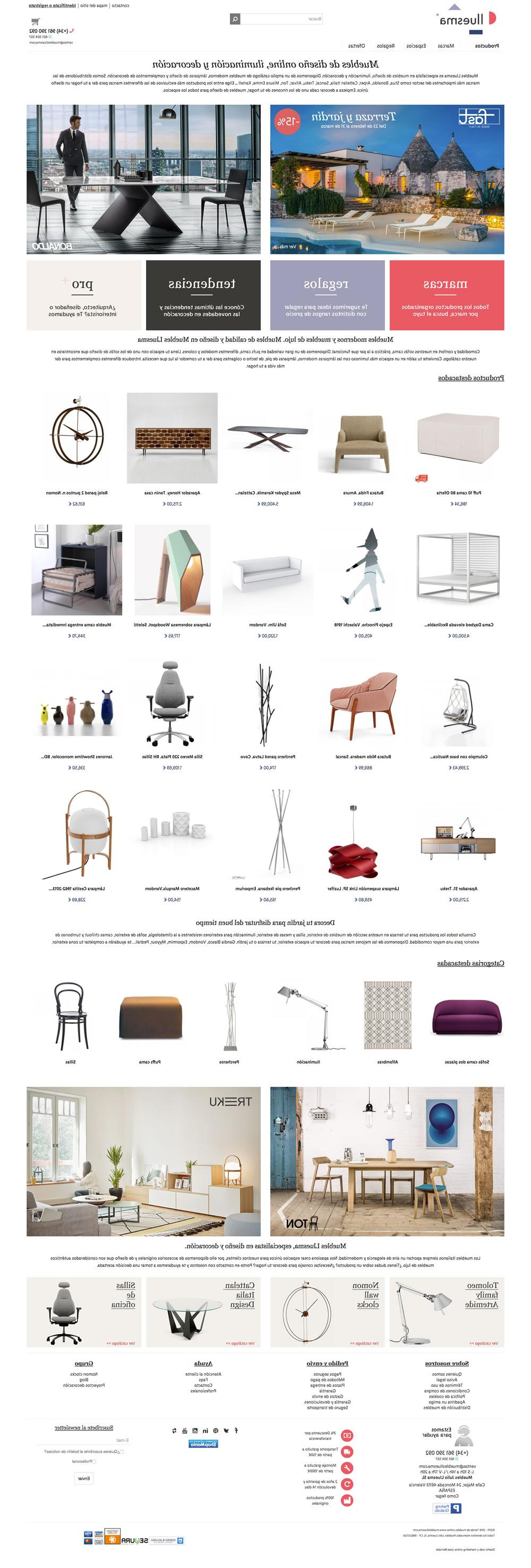 Tienda Online Muebles O2d5 Diseà O Web Desarrollo Tienda Online Muebles Lluesma Jose Bernalte