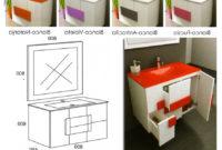 Tiradores Muebles Baño 87dx Albacete Mueble Suspendido En Blanco Y Color Reformas Guaita