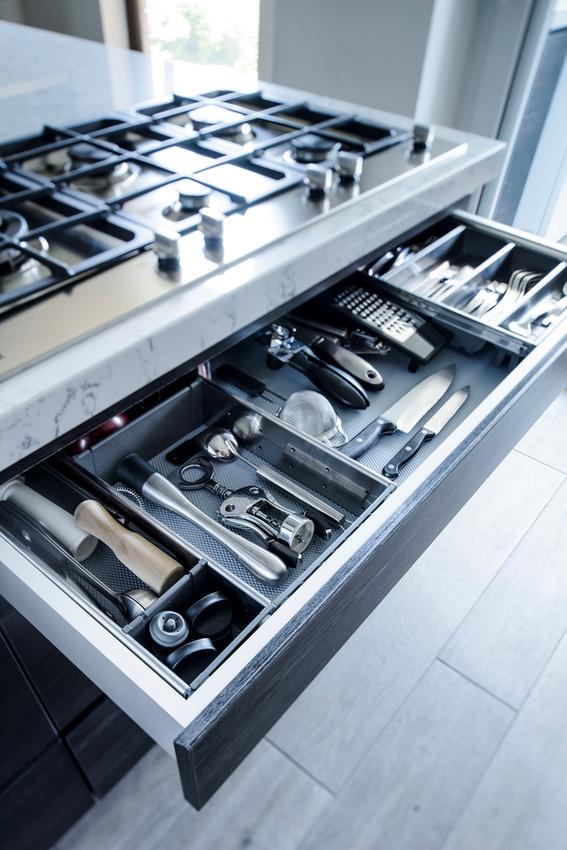 Tiradores Muebles Baño Irdz Roomlab Cajà N Sin Tirador Con Cubertero En Cocina Diseà Ada