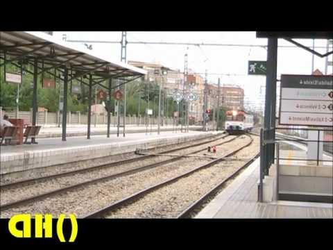 Tren Silla Valencia Mndw Renfe Adif Estacion De Silla Valencia Youtube