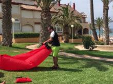 Tumbona Hinchable Decathlon Q0d4 Lazybag original El Sillà N Hinchable Para Playa Montaà A O Piscina