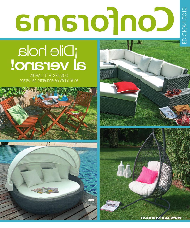 Tumbonas Conforama 9ddf Muebles Conforama Jardin 2015 by Losdescuentos issuu