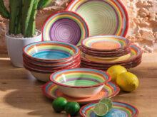Vajilla Colores Zwdg Vajilla 18 Piezas Colors Conforama