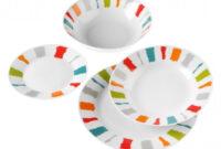 Vajilla De Porcelana 0gdr Vajilla Porcelana Redonda 19 Piezas Quid Jose Maria Rodilla S L