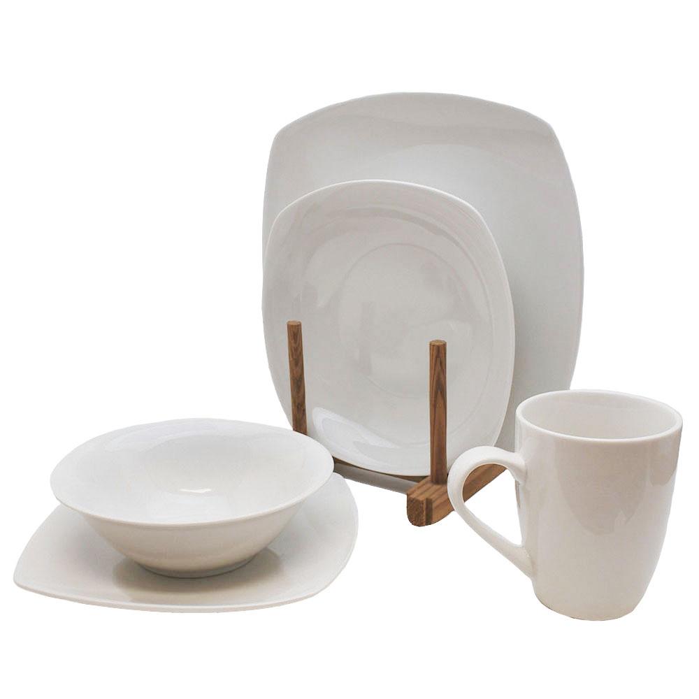 Vajilla De Porcelana 3id6 Vajilla Porcelana 20 Piezas Jumbo Colombia