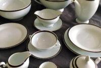 Vajilla De Porcelana 4pde Vajilla De Porcelana Alemana Tirschenreuth Bava Prar Botijos
