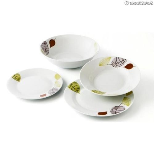 Vajilla De Porcelana Qwdq Vajilla Porcelana 18 Piezas Sendai