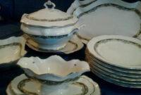 Vajilla De Porcelana S1du Vajilla Porcelana Alemana Tirschenreuth Prar Porcelana Y