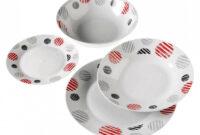 Vajilla De Porcelana Tqd3 Vajilla Porcelana 19 Piezas