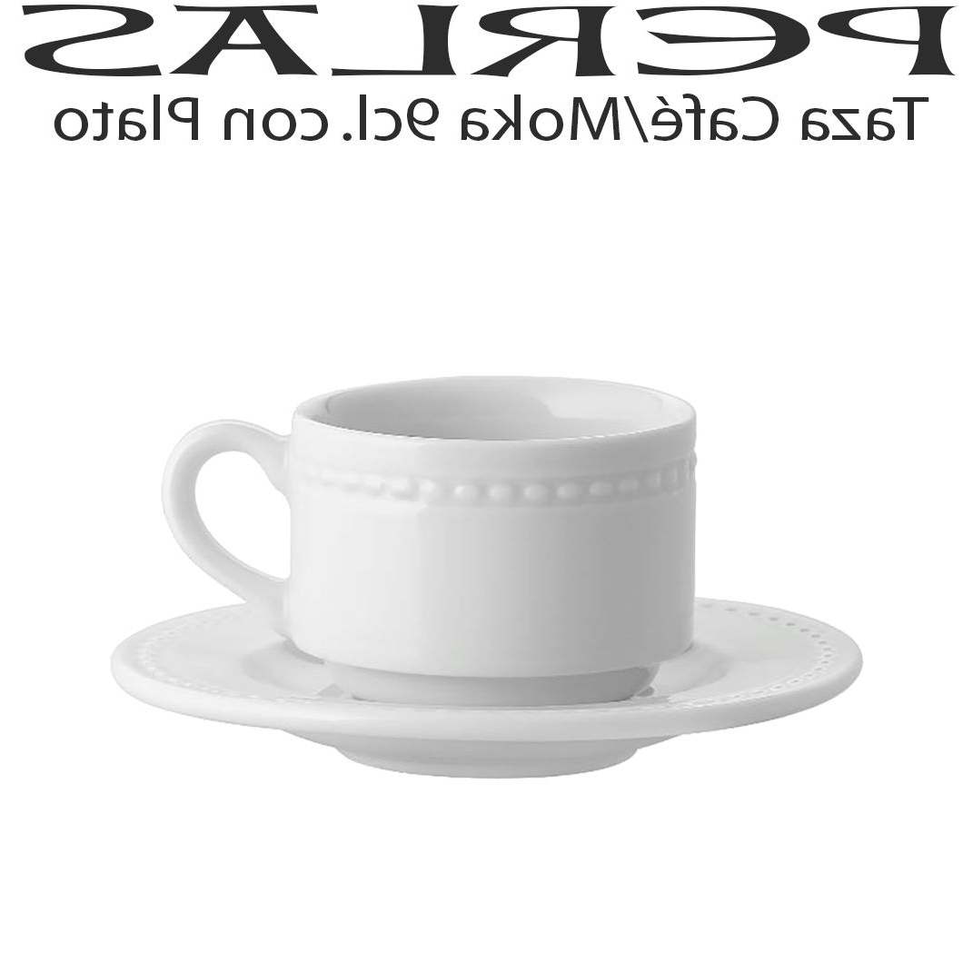 Vajilla Hosteleria Barata D0dg Taza Cafà Moka 9cl Con Plato Barata Vista Alegre Perlas Uso