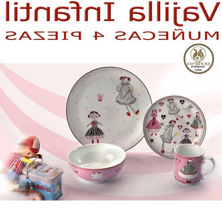 Vajilla Infantil Porcelana D0dg Platos Y Vajillas Infantiles Nià A Muà Ecas Se Pueden Personalizar