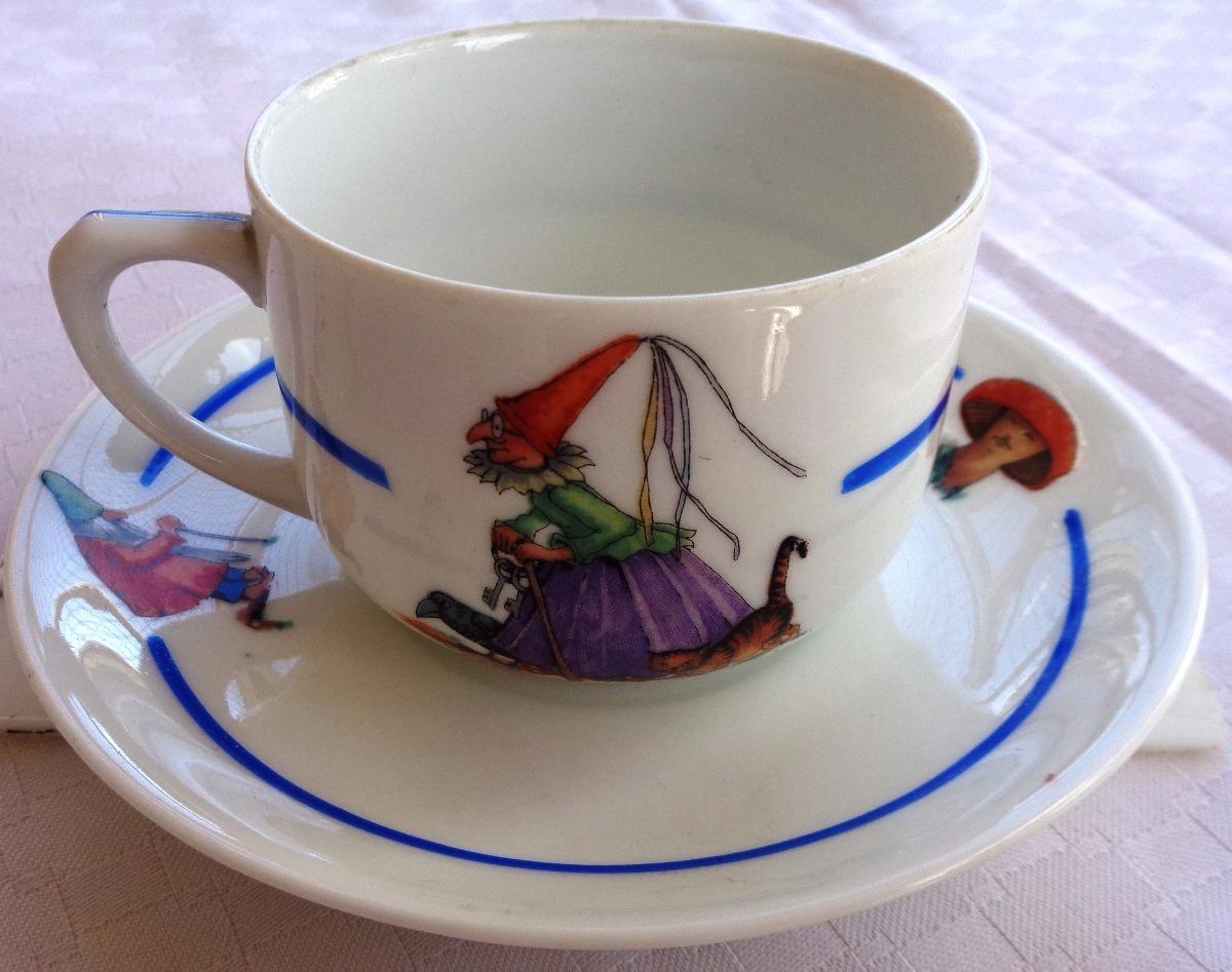 Vajilla Infantil Porcelana J7do Monijor62 Antigua Vajilla Infantil Porcelana Alemana 1 100 00 En