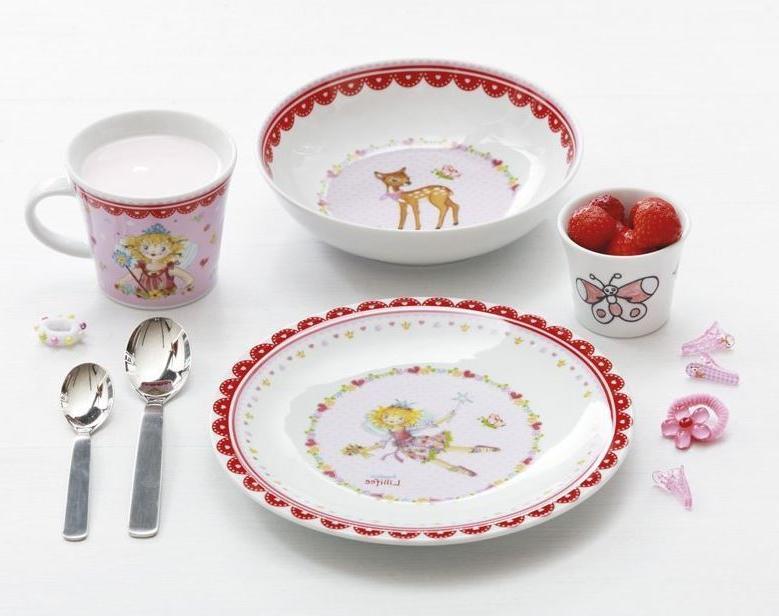 Vajilla Infantil Porcelana Mndw Vajilla Infantil Lillifee Porcelana Personalizada