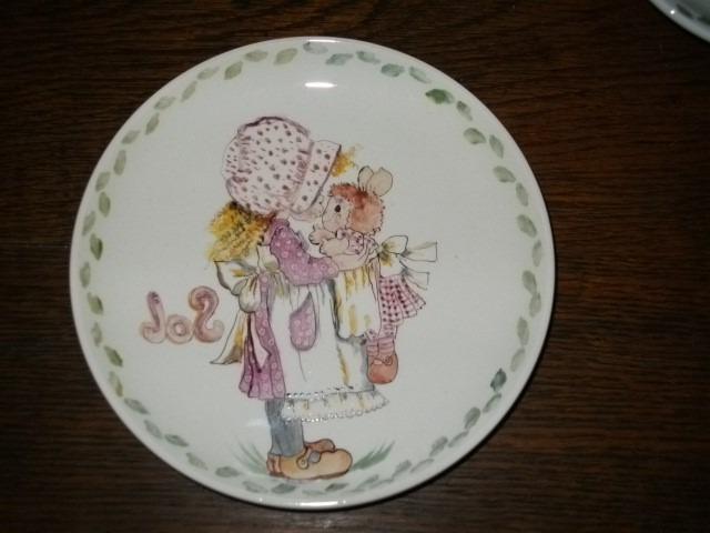 Vajilla Infantil Porcelana S1du Vajilla Infantil De Porcelana Pintada A Mano 250 00 En Mercado Libre