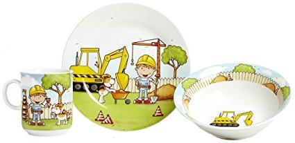 Vajilla Infantil Porcelana T8dj Ritzenhoff Breker Diseà O Trabajador De Vajilla Infantil 3 Piezas