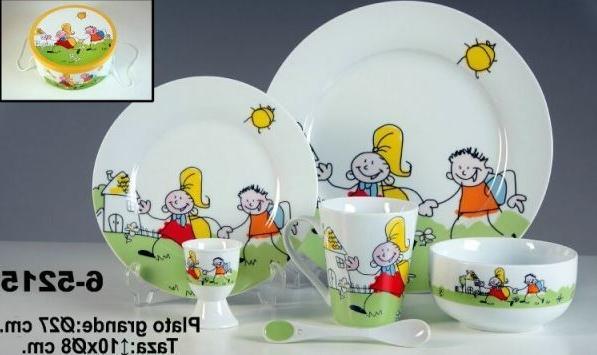 Vajilla Infantil Porcelana T8dj Vajilla Infantil Porcelana 6 Pzas Nià Os Personalizada