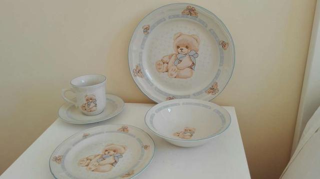 Vajilla Infantil Porcelana Wddj Vajilla Infantil Porcelana De Segunda Mano Por 30 En Residencia