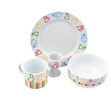 Vajilla Infantil Porcelana Y7du Grà We Vajilla Infantil Porcelana 4 Piezas Hogar
