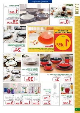 Vajillas Alcampo Xtd6 Page 16 Alcampo Los Mejores Precios Al Mejor Ahorro