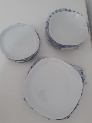 Vajillas Alicante Drdp Vajilla Porcelana De Colores De Segunda Mano En La Provincia