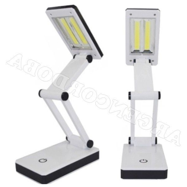 Velador Plegable E9dx Lampara Velador Plegable Encendido Digital 3 Potencias Doble Led Cob