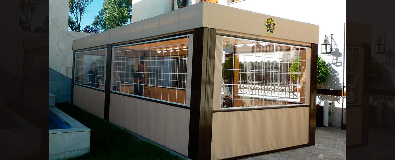 Velador Terraza H9d9 toldos En La Hostelerà A toldelux