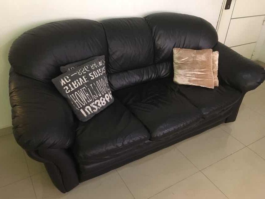 Venta sofas Tldn A La Venta sofà S De Cuero De Tres Y Dos Puestos Bs 750 000 00