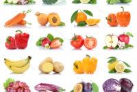 Verduras Etdg Foto Frutas Y Verduras Frutas Frutas Verduras Coleccià N Aislado