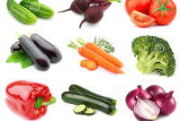 Verduras Tldn Collage De Verduras Frescas Foto De Archivo Imagen De Remolocha