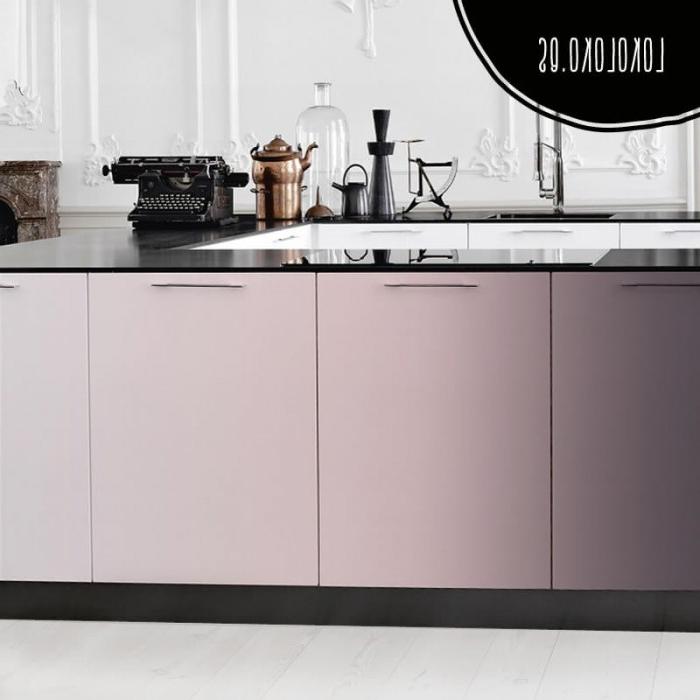 Vinilo Adhesivo Para Muebles Txdf Vinilo En Color Degradado Rosa Plata Para Decorar Lokoloko
