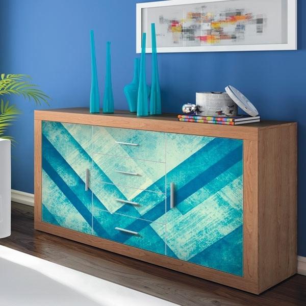 Vinilos Adhesivos Para Muebles 3id6 Vinilos Para Muebles Metal Azul Adhesivos Decorativos